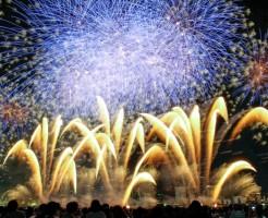 淀川花火の打ち上げ場所と何発かについて