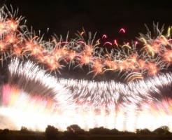 多摩川花火大会の打ち上げ場所と穴場の場所