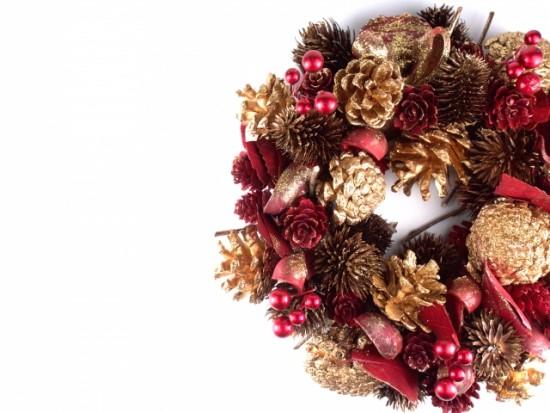 クリスマスリースの意味?何となく飾るのは惜しい
